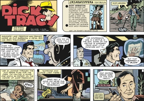 Dick tracy by Joe Staton and Mike Curtis featuring  gay actor George Takei