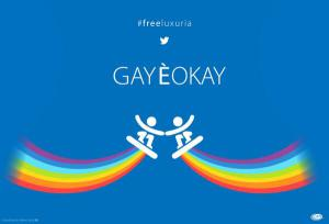 Gay è ok! #freeluxuria