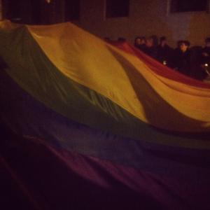 Roma, le associazioni sventolano il rainbow