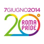il logo del Roma Pride 2014