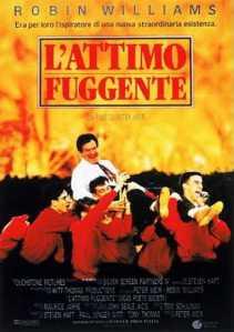 """La locandina de """"L'attimo fuggente"""" (Dead Poets Society, 1993), probabilmente il film capolavoro di RW"""