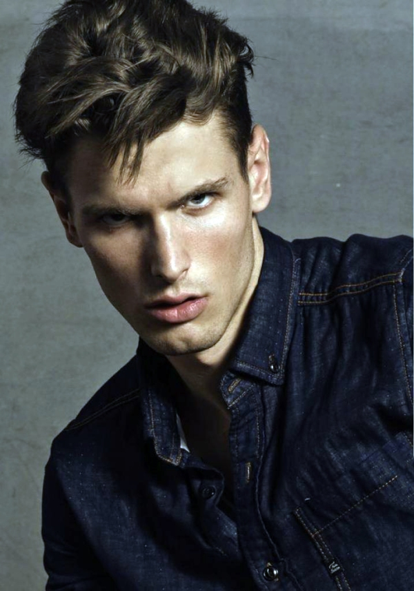 Julien Descamps, French model