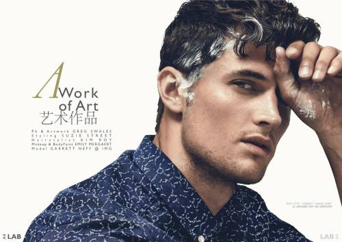 A Work of Art Neff Garrett  by Greg Swales for Lab A4 #7 Fall/Winter 2014