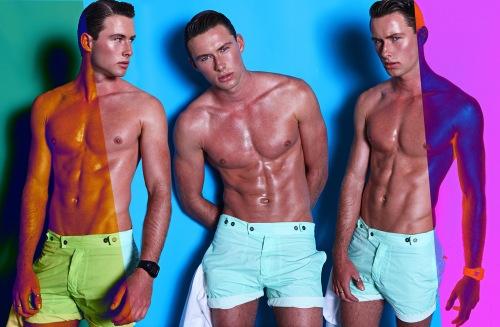 Australian twins Dan & Shaun Osborn for Kaltblut Magazine
