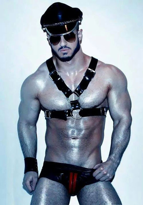 Mr. New England Leather in Provincetown