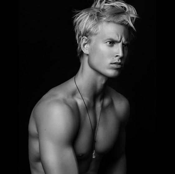 Handsome Danish boy