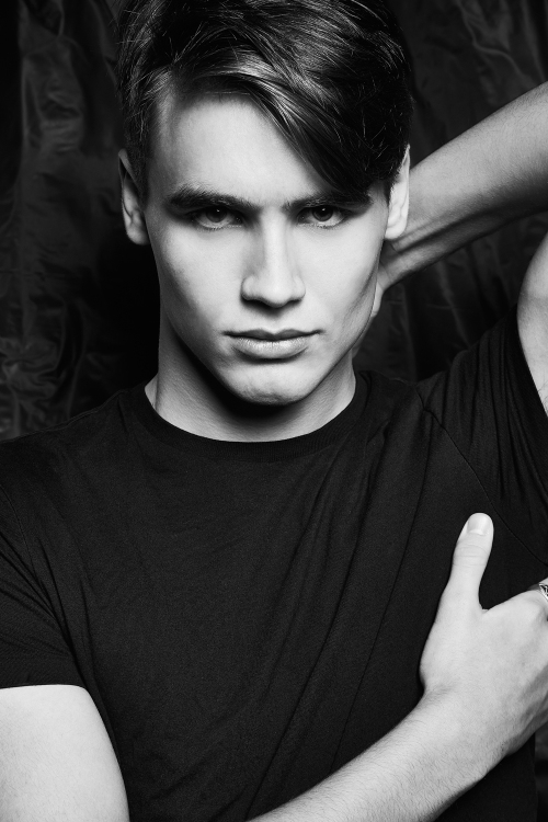 New fresh face at Nevs Agency is Karl Ward shot by JPhotography.