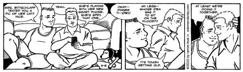 James Asal Jr., gay cartoon, gay comic