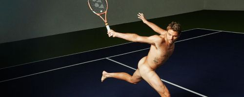The temperature on Wimbledon's Centre Court may be hitting over 100F/40c today but it's also getting hot off-court as Stan Wawrinka is revealed as one of the sports stars to pose fully nude in ESPN's Body Issue!  Later this month the Swiss tennis ace will also be shooting an underwear campaign for Italian brand D.HEDRAL, celebrating his strength and masculinity. The campaign will launch in September to coincide with the US Tennis Open.  Tennis rivalry also head off-court as Stan will be going head-to-head against Rafael Nadal who will be fronting the underwear campaign for Tommy Hilfiger!  Please find more info attached along with an exclusive shot of Stan training yesterday in his D.HEDRAL seamless underwear.  ESPN: Shot by Kai Z Feng
