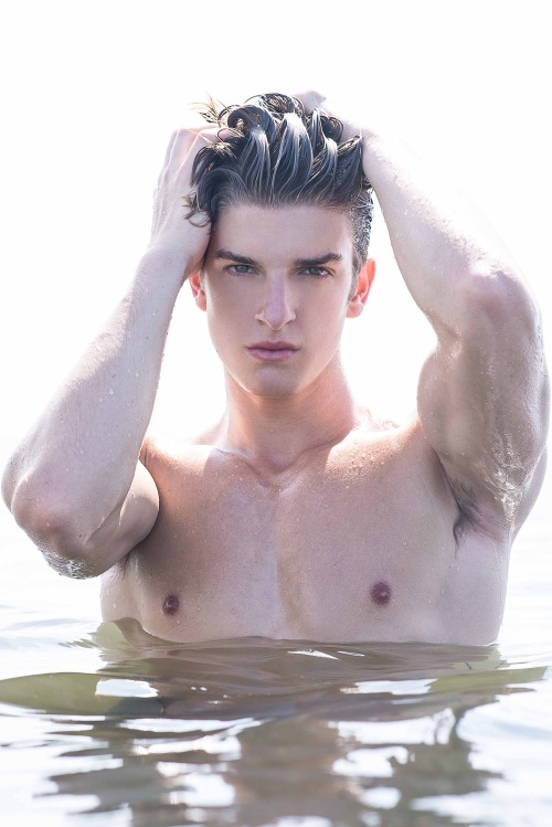 The dashing Bruno Scafidi represented by Elite Models Miami links up with photographer Fritz Yap for a fresh portfolio update.