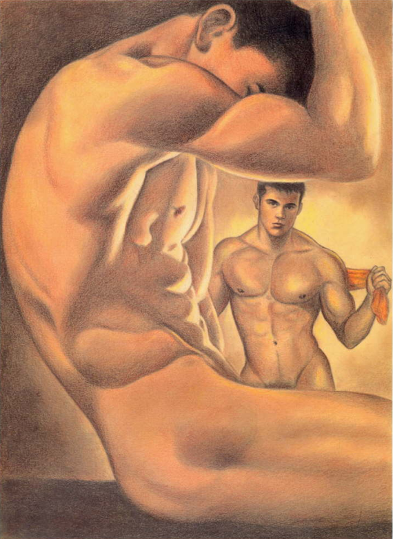 The Nine Virgins, A Gay Erotic Short Story By Elizabeth Coldwell